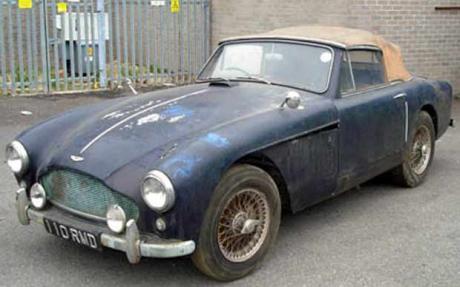 Aston Martin DB2 4 Found 3