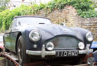 Aston Martin DB2 4 Found