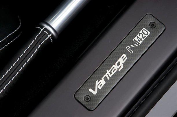 Aston Martin V8 Vantage N420 Roadster. Aston Martin N420 Roadster 12
