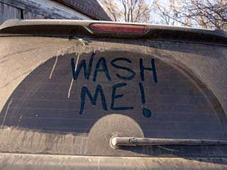 Car Cleaning 'Wash Me'
