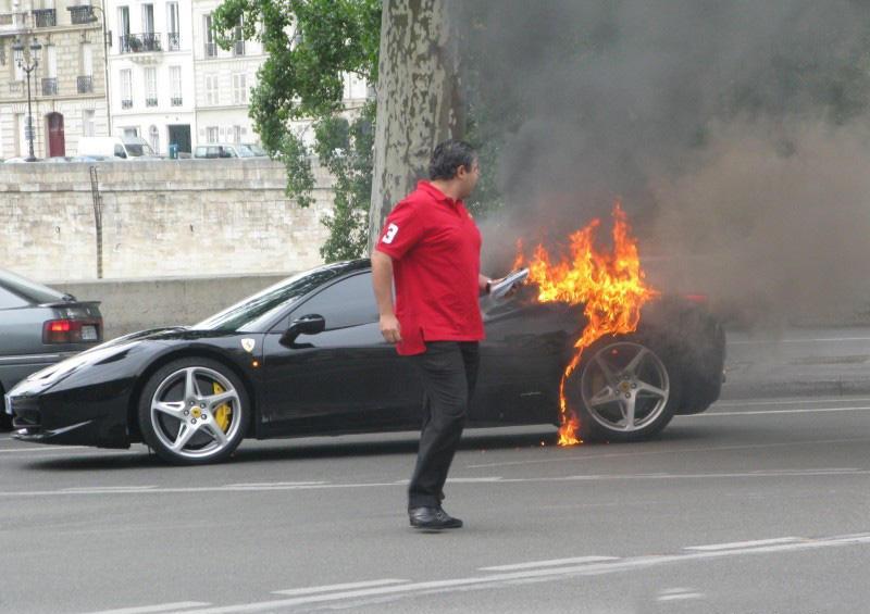 Ferrari 458 Italia Fire
