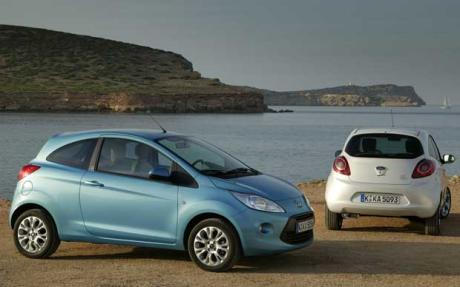 Ford Fiesta and KA REDUCTIONS