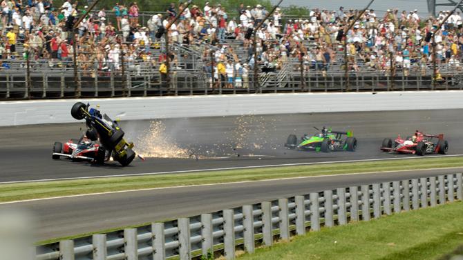 Indy Crash 1