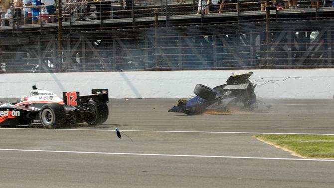 Indy Crash 13
