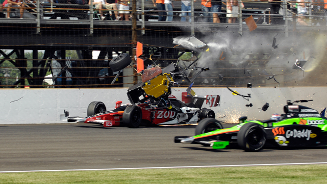 Indy Crash 9