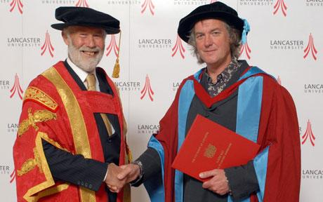 James May Honorary Doctorate