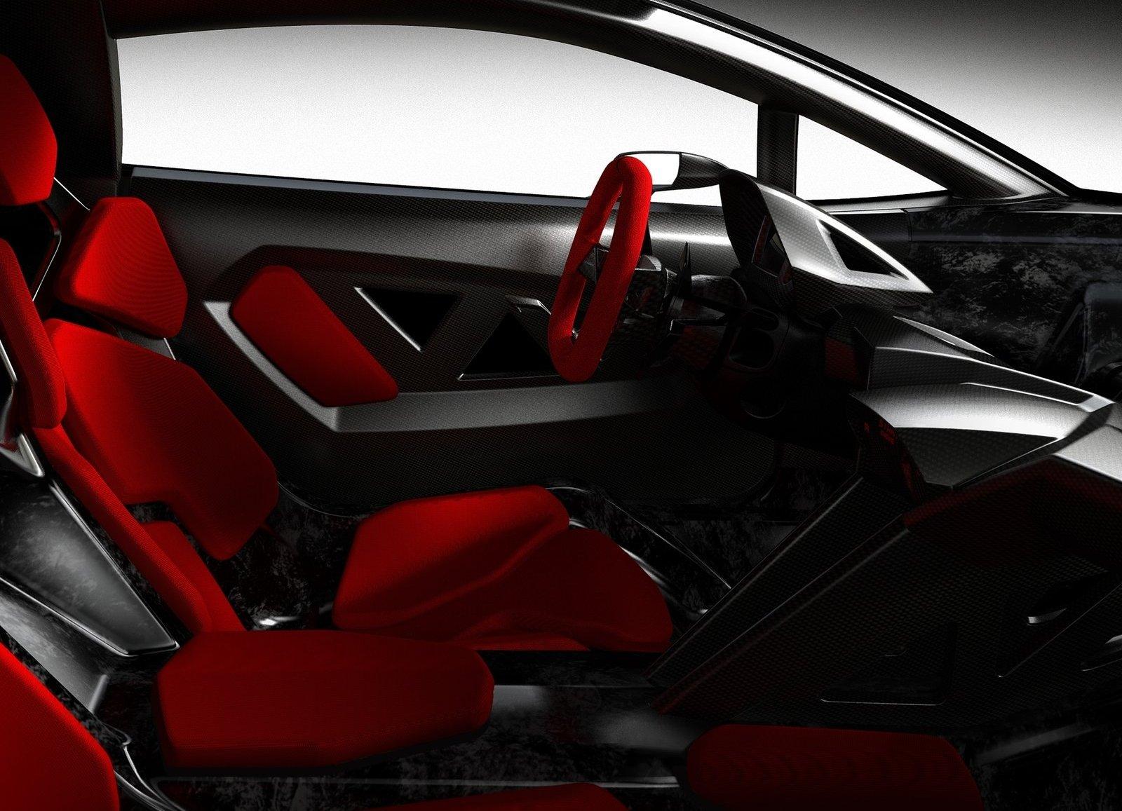 Lamborghini Sesto Elemento Concept 2010 (Paris Motor Show) 5