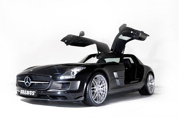 Mercedes AMG SLS Brabus 4