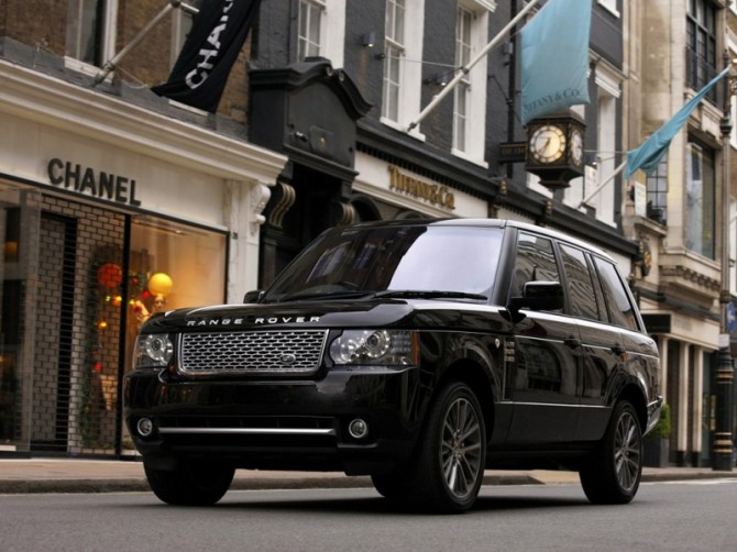 Range Rover Black LE 3
