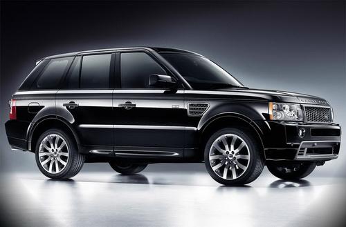 Range Rover Black LE