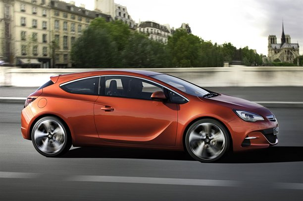 Vauxhall Astra VXR Concept 6