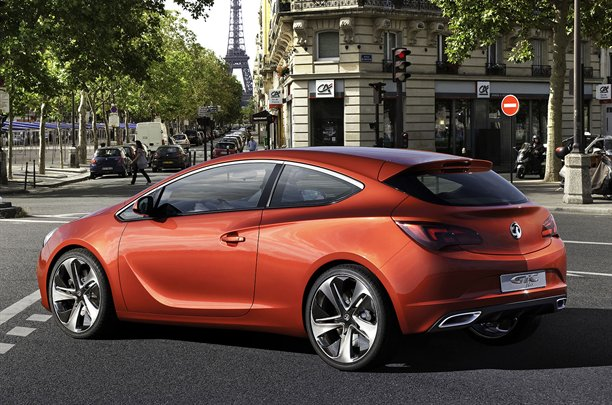 Vauxhall Astra VXR Concept 8