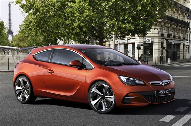 Vauxhall Astra VXR Concept 9