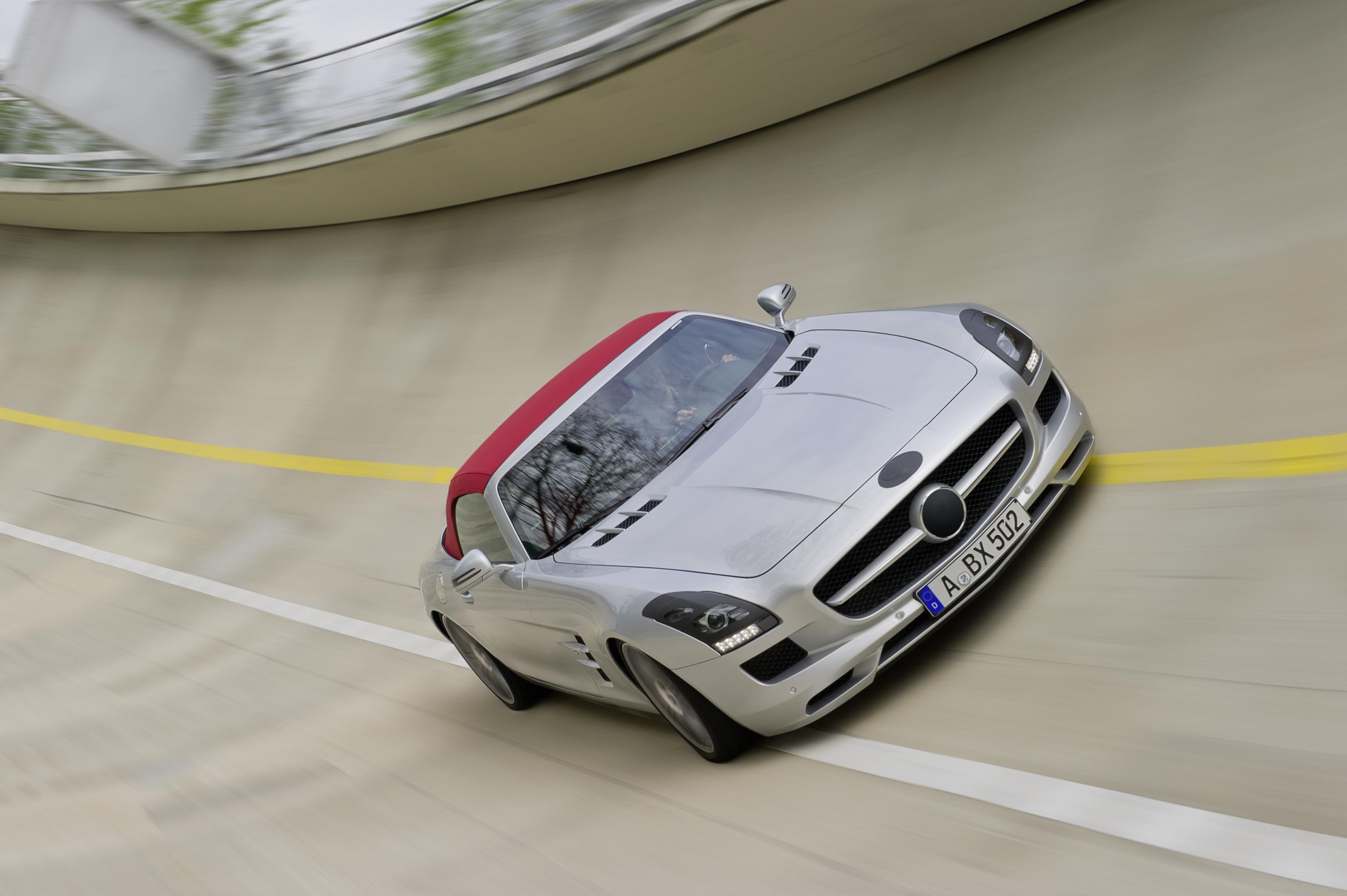Mercedes SLS Roadster (3)