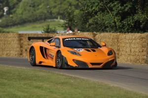 McLaren MP4-12C - Jenson and Lewis at Goodwood