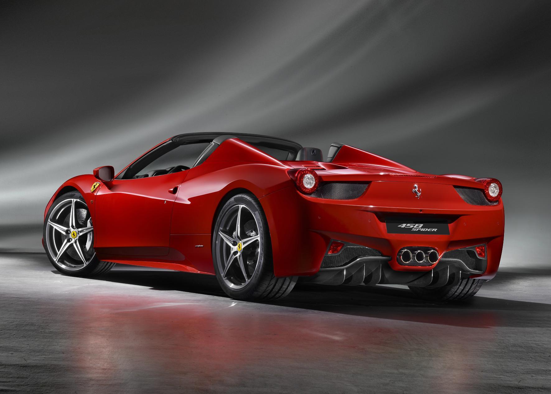 Ferrari 458 Italia Spider 3