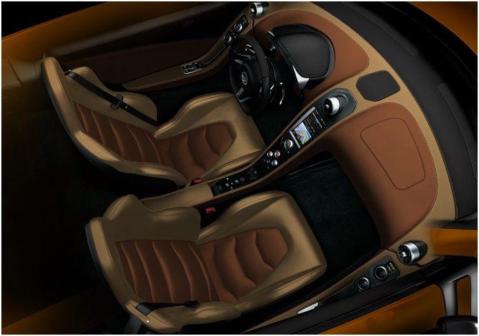 McLaren MP4-12C Interior 2