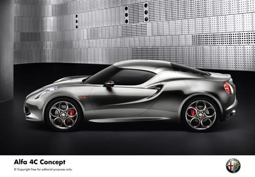 Alfa Romeo 4C Concept (2)