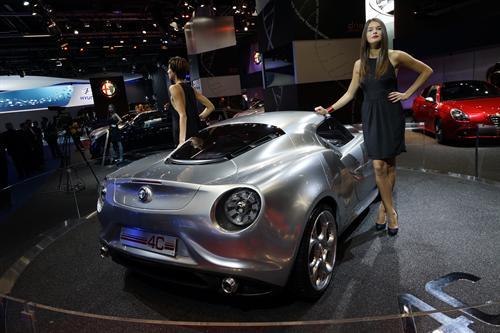 Alfa Romeo 4C Concept Frankfurt 2011