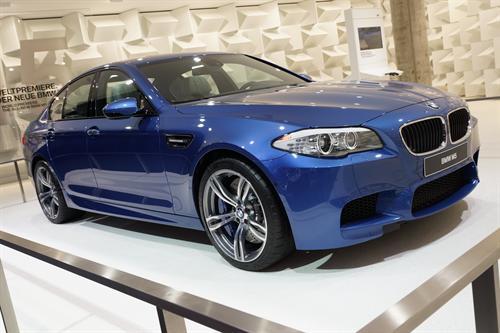 BMW M5 Frankfurt 2011