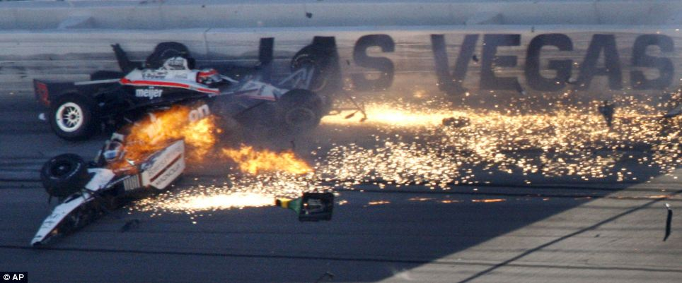 Newmotoring Dan Wheldon Crash 11 Newmotoring