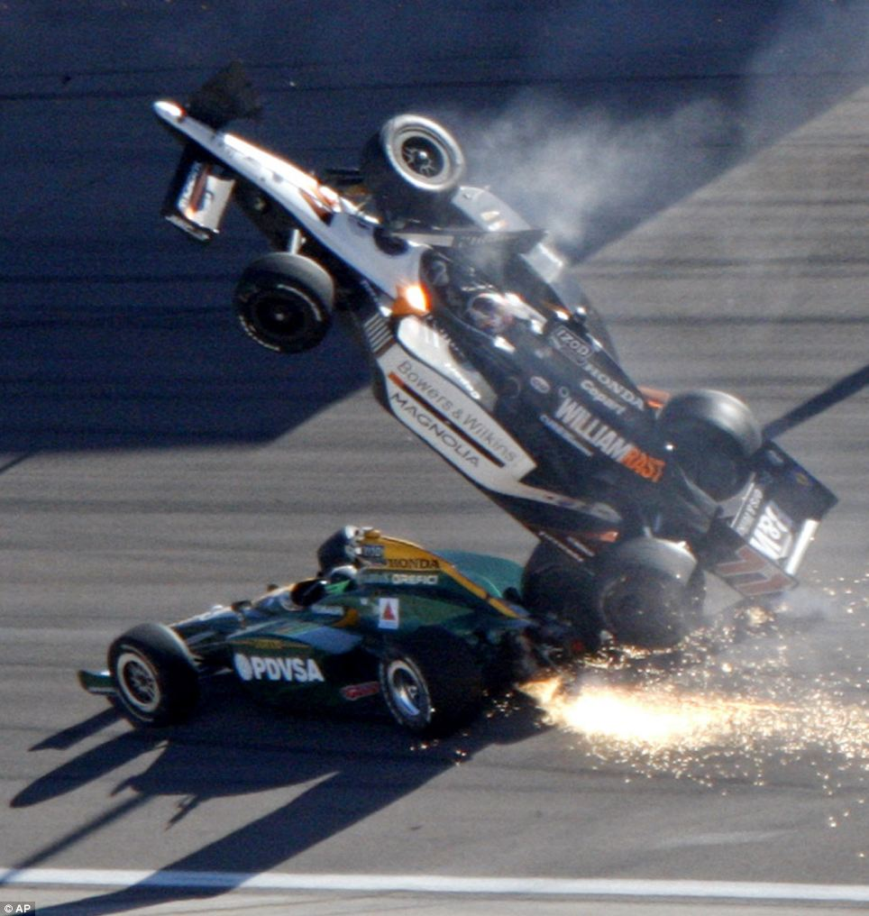 Dan Wheldon Crash 2
