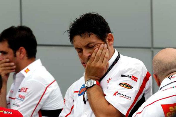 Marco Simoncelli Crash MotoGP Malaysia 2011 5