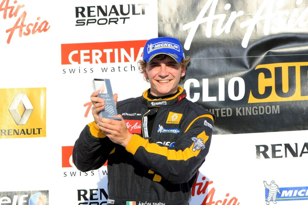 Aron Smith (IRL) Team Pyro Renault Clio Cup