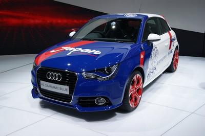 Audi Samurai Blue Tokyo 2011 (2)