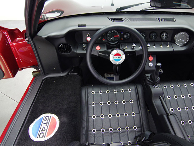 ford superformance gt40 mk ii 1966 4 - 1966 Ford Gt40 Interior