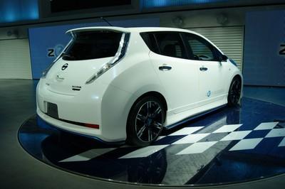 Nissan LEAF Nismo Concept Tokyo 2011