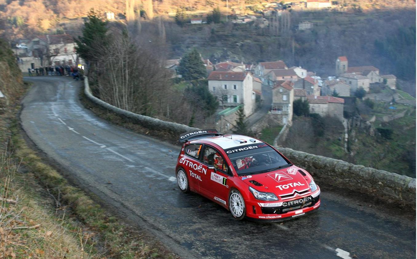 Sébastien Loeb 4 - Monte-Carlo 2007