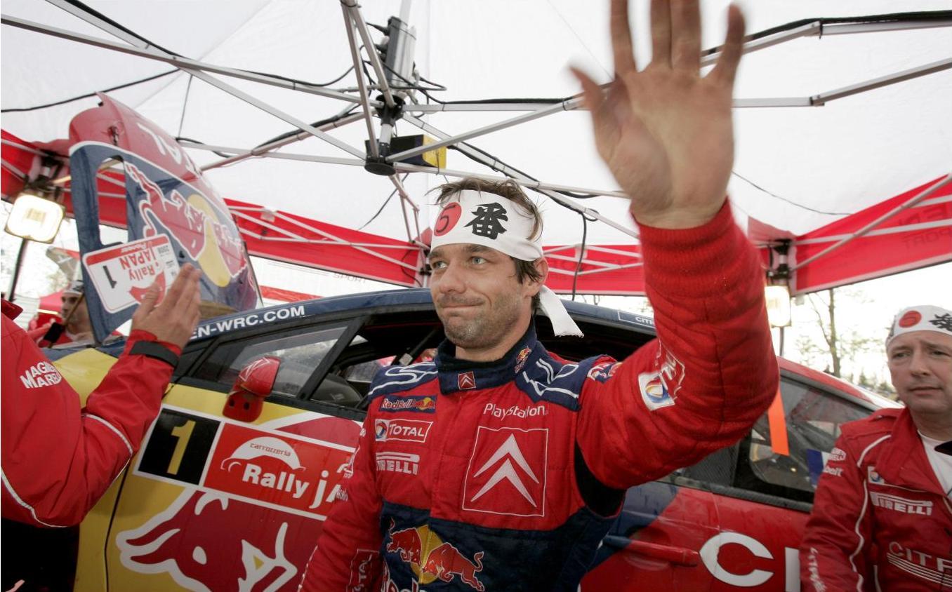 Sébastien Loeb 5 - Japan 2008