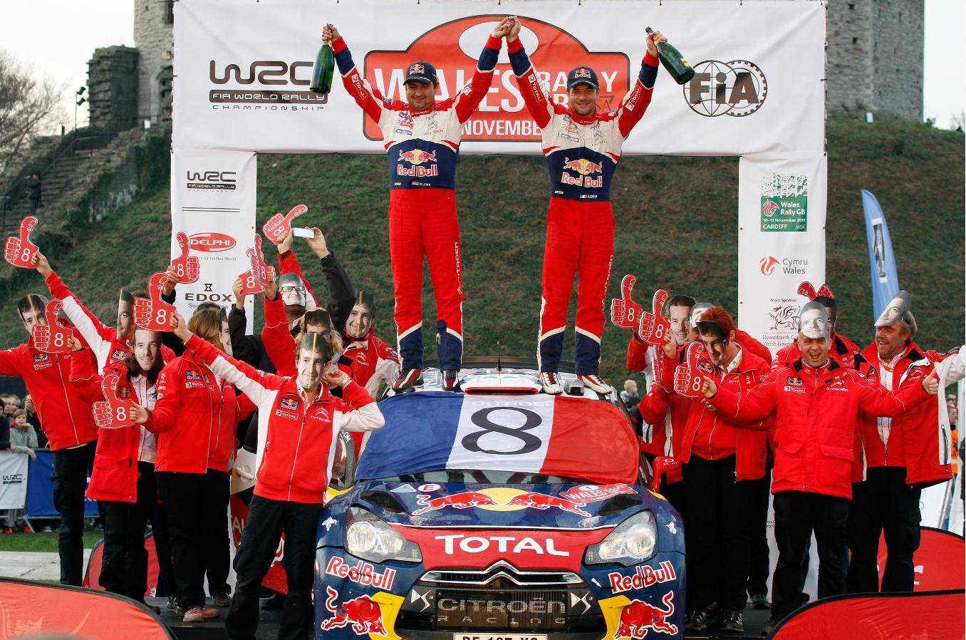 Sébastien Loeb 8 - Wales 2011