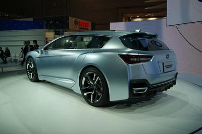 Subaru Advanced Tourer Concept Tokyo 2011