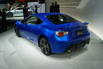 Subaru BRZ Production Concept Tokyo 2011 (2)