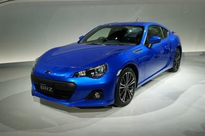 Subaru BRZ Production Concept Tokyo 2011