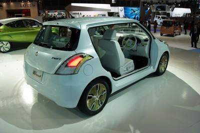 Suzuki Swift EV Hybrid Tokyo 2011