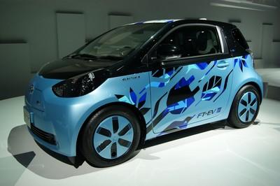 Toyota FT-EV III (Future Toyota - Electric Vehicle III) Tokyo 2011 (2)