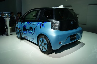 Toyota FT-EV III (Future Toyota - Electric Vehicle III) Tokyo 2011
