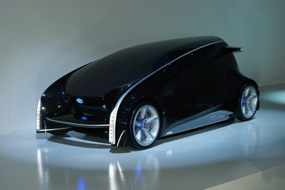 Toyota Fun-Vii (Fun-Vehicle interactive internet) Concept Tokyo 2011 (2)