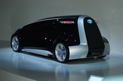 Toyota Fun-Vii (Fun-Vehicle interactive internet) Concept Tokyo 2011