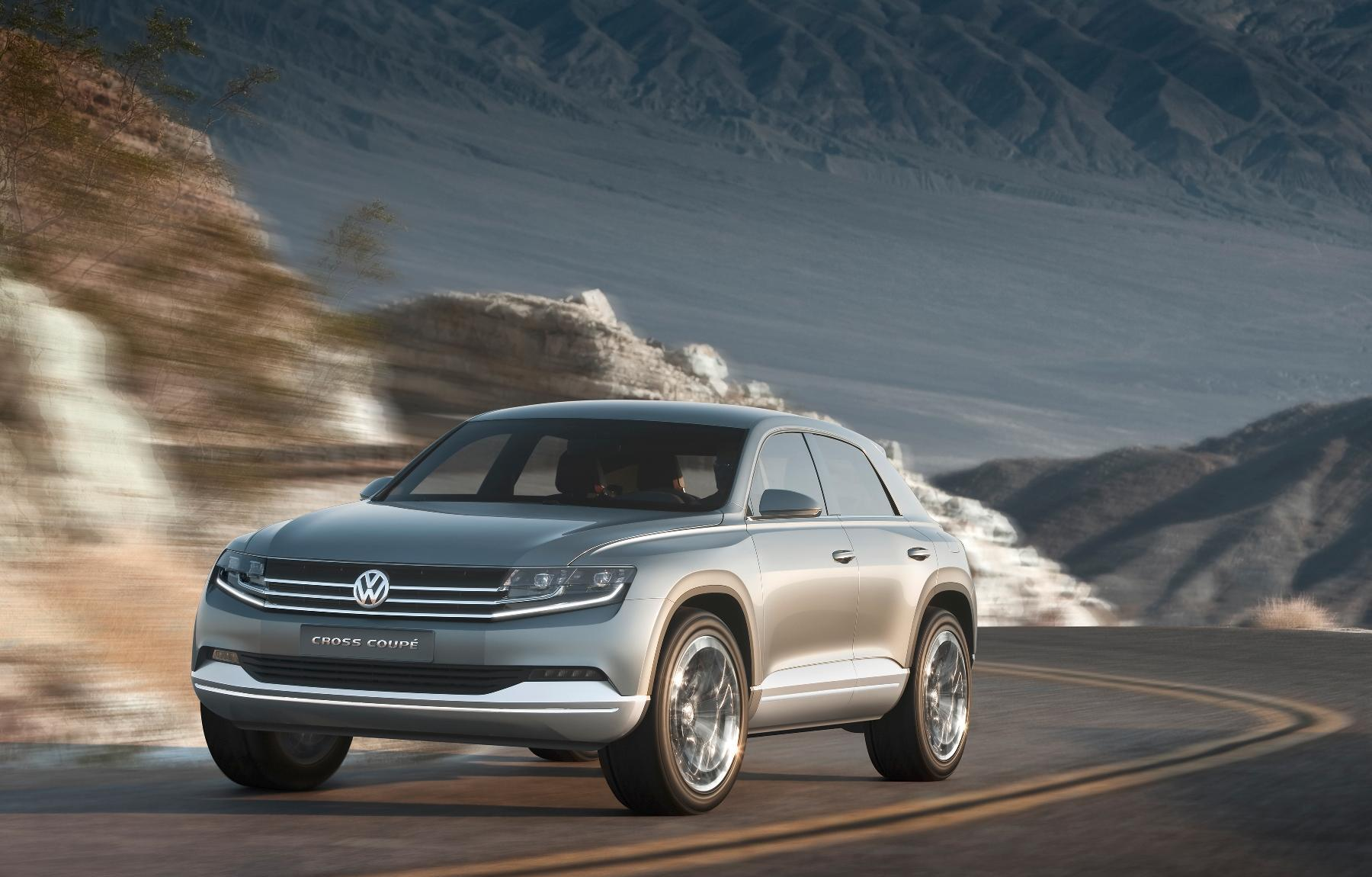 VW Cross Coupe Concept 2011 12
