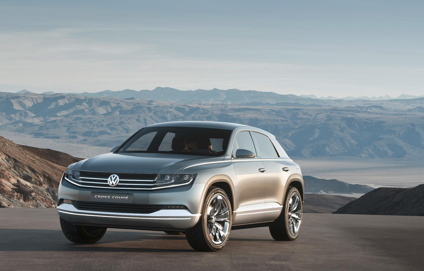 VW Cross Coupe Concept 2011 7