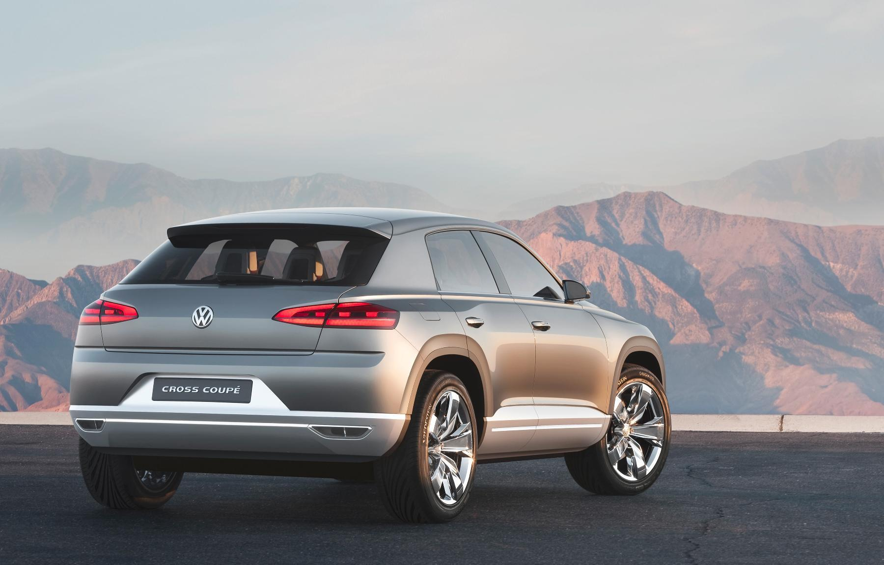 VW Cross Coupe Concept 2011 8
