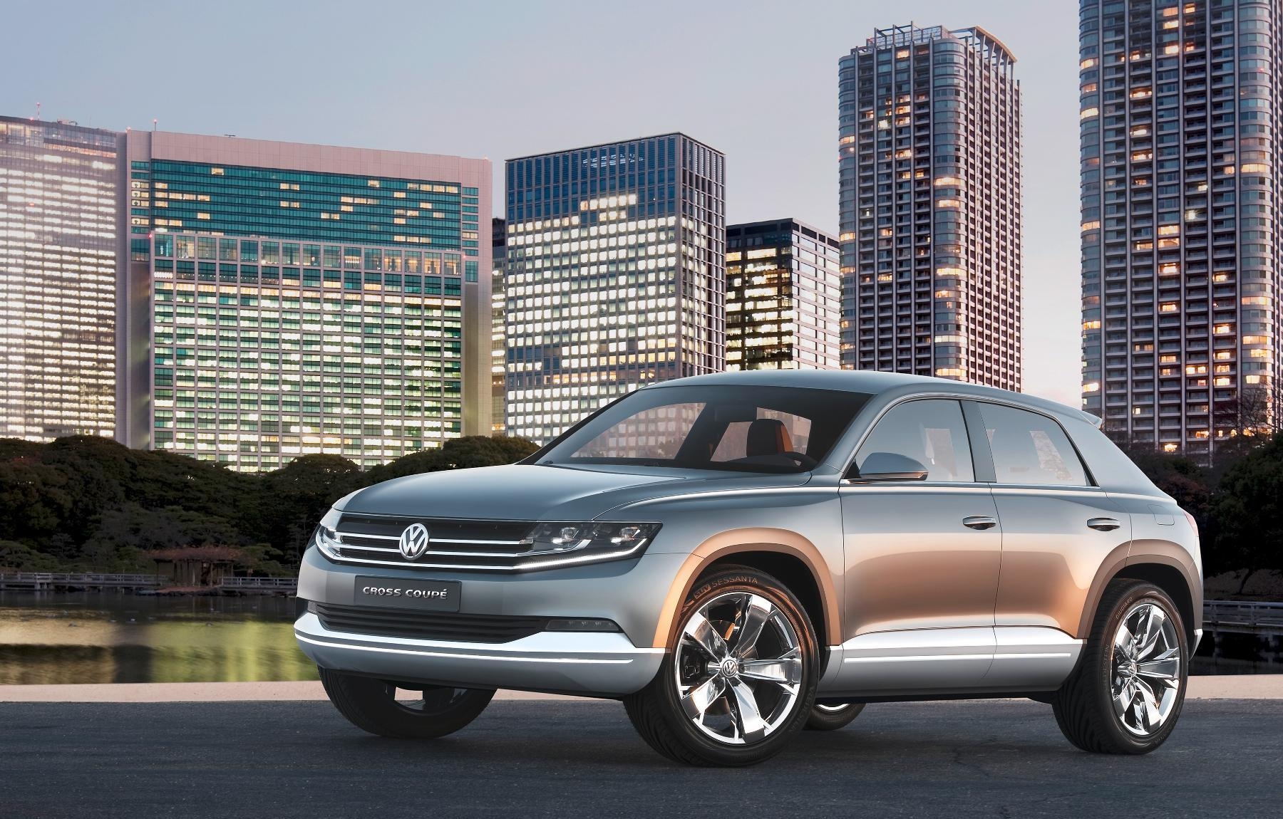 VW Cross Coupe Concept 2011