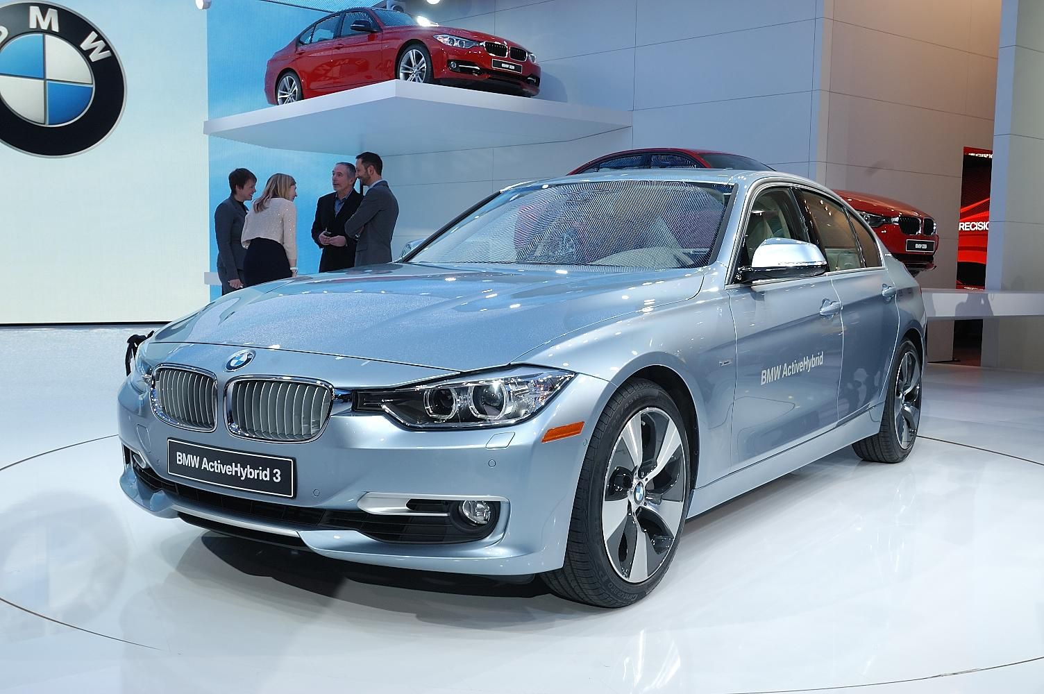 BMW ActiveHybrid 3 NAIAS 2012 2