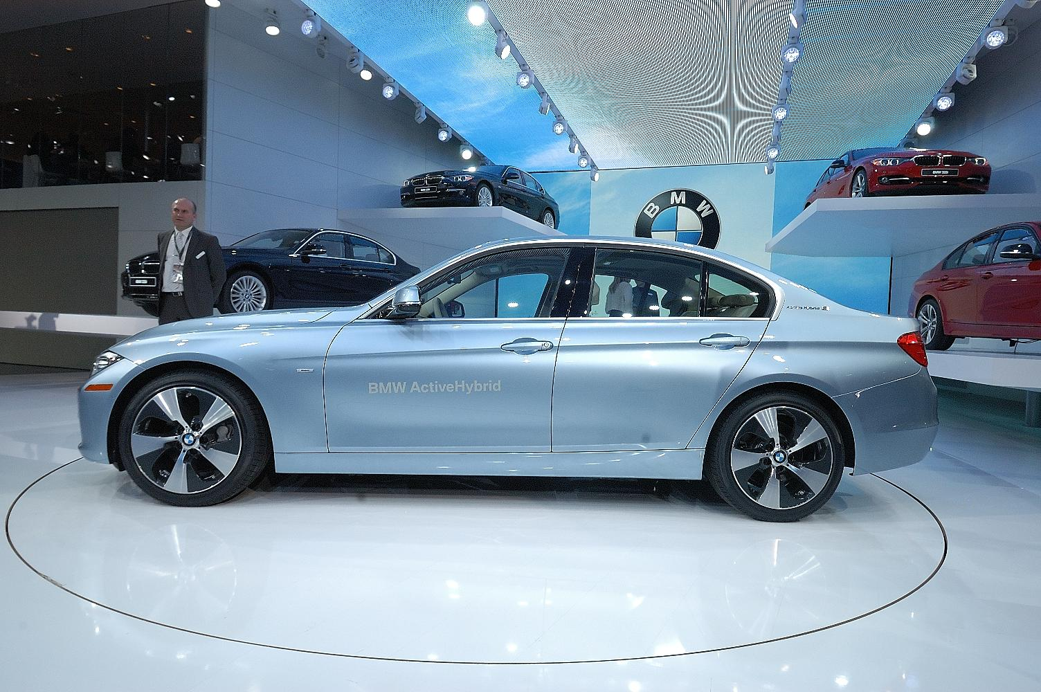 BMW ActiveHybrid 3 NAIAS 2012 3