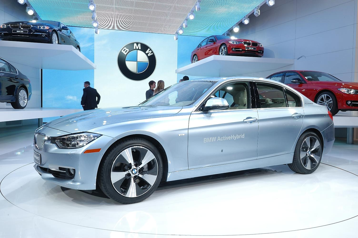 BMW ActiveHybrid 3 NAIAS 2012