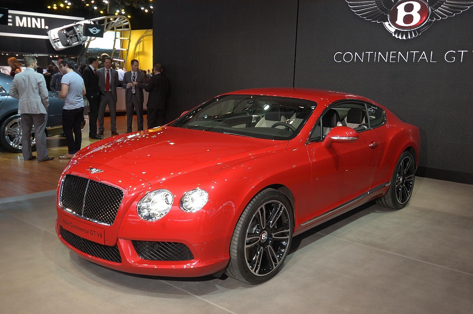 Bentley Continental GT V8 NAIAS 2012